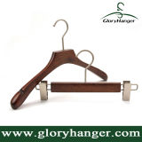 Vintage Wooden Coat Hanger, Wooden Pants Hanger for Clothes Shop