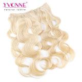 Blond Hair Extensions Flip in Human Hair