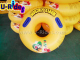 Over lap making Inflatable Swimming Ring Single water Tube for Water Park