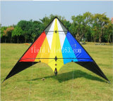New 63-Inch 1.6m Dual Line Flame Stunt Kite Outdoor Fun Sport Toys for Beginner