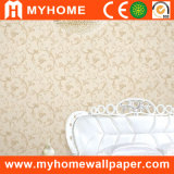 PVC Flowers Wall Paper for Hotel