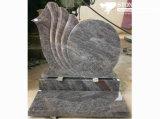 Hungarian Style Headstone Dark Grey Granite Gravestone