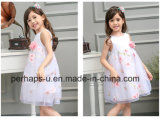 2016 New High Quality Kids Print Princess Dress Wholesale