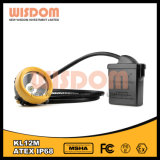 Wisdom Kl12m Safety Corded Headlamp, LED Mining Head Lamp