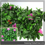 Sunwing Wholesale PVC Beauty Artificial Flower Panel Hedge