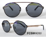 Hot Sale Metal Sunglasses with Stainless Steel Frame (Ce/FDA)