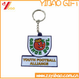 Wholesale Fashionable Customizable Gifts of Soft PVC Rubber Keychains