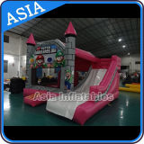 Inflatable Mario Bouncer Slide/Inflatable Mario Castle/Inflatable Mario Moonwalk