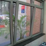 Aluminum Tilt and Turn Windows with Double Tempered Glass (TS-1152)