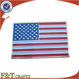 Custom Metal Soft Enamel Beatiful American Flag Pin (FTFP1606A)