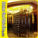 Customized Stainless Steel Wine Display Rack
