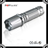 Adjustable Focus XP-E R2 Mini Zoom LED Flashlight