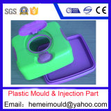 OEM Plastic Injection with Different Texture, Plastic Injection