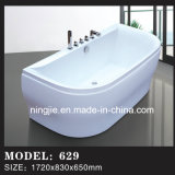 Acrylic Fibre Glass Bathroom Freestanding Bathtub with Shower (629)