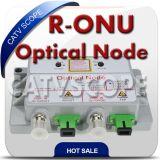 Rfog Mini Node R-ONU Optical Node/Cable TV Fiber Optic Burst Node