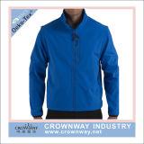 Wholesale Men Windbreaker Waterproof Softshell Jacket with Detactable Sleeve