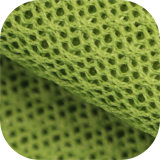 A1646 Polyester Twill Black Yarn Air Warp Knitting Mesh Fabric