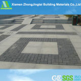 Black Square Water Permeable Ceramic Brick for Plaza