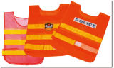 Reflective Safety Vest with High Crystal Tape, Customized Logo