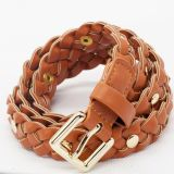 Kids PU Leather Braided Belt (RS-131204)