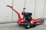 China Factory Supply 15HP Max. Depth 600mm Gasoline Power Walk-Behind Trencher