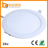 18W Super Slim Recessed Round Panel Ceiling LED Light with Ce RoHS