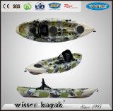 Single Sit on Top Recreational Plastic Fishing Kayak