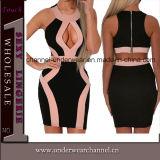 Black Plus Size Sweet Ruched Wrap MIDI Party Dresses (TP4705)