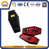 Game Accessories Black Leatherette Coffin Dart Cases (HS-6008)