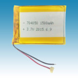 3.7V/1500mAh Li-ion Polymer Battery Packs