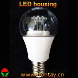 A60 LED PC Lens Buhousing for 7 Watt Bulb