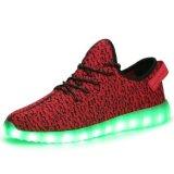 Flyknit Light Canvas Women Shoes with Mesh Footwear Sport Shoe