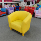 Kids Furniture/Children Chair/Leather Sofa and Ottoman (SXBB-06)