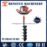 Petrol Earth Hand Auger Ground Drill 52cc