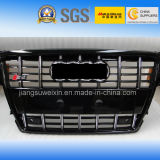 Black (Chromed Logo) Front Auto Car Grille for Audi S4 2008-2011""
