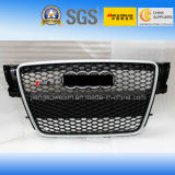 "Chromed Auto Car Front Grille for Audi RS5 2009-2011"" with Chromed Logo"
