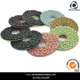 Resin Diamond Concrete Floor Polishing Pads