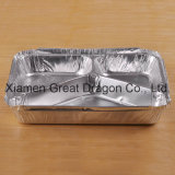 Foil Trays BBQ Aluminum Roasting Disposable Takeaway Container (AC15022)