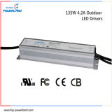 135W 4.2A Outdoor Constant Current Waterproof LED Power Supply