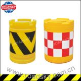 Driveway Safety Traffic Reflective Plastic Crash Barrel