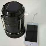 Camping Solar Light Portable LED Solar Lantern with Mobile Phone Charger