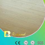 Household 12.3mm E1 HDF AC3 Embossed Waxed Edge Laminate Flooring