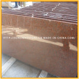 Polishing Tianshan Red Granite Slabs for Floor Tiles or Worktops