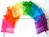 Colorful Custom Gift Organza Pouch Organza Small Bag