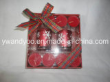 Merry Christmas Holiday Candle Set