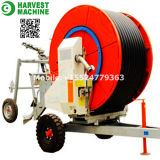 Newly Retractable Spray Water Mobile Farm Hose Reel Irrigation System