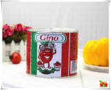2200g Fresh Red Color Tin Tomato Paste for Africa