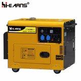 5kw Silent Red Color Diesel Generator Set (DG6500SE)