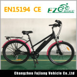 City Design Electric Bike with Lithium Battery and Disc Brake