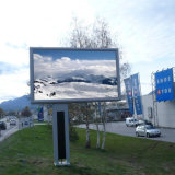 Outdoor Double Sided Advertising Scrolling Billboard LED Lighting Billboard